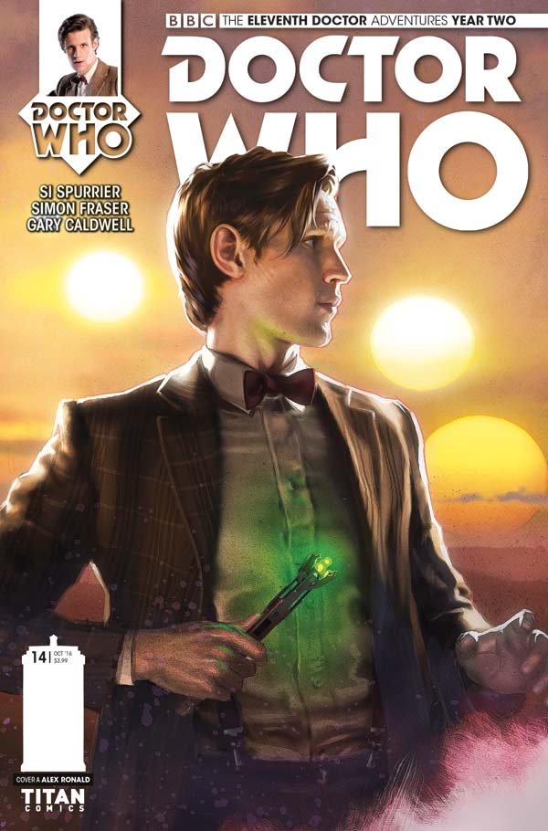 Doctor Who: The Eleventh Doctor Volume 2 #14 Cover A
