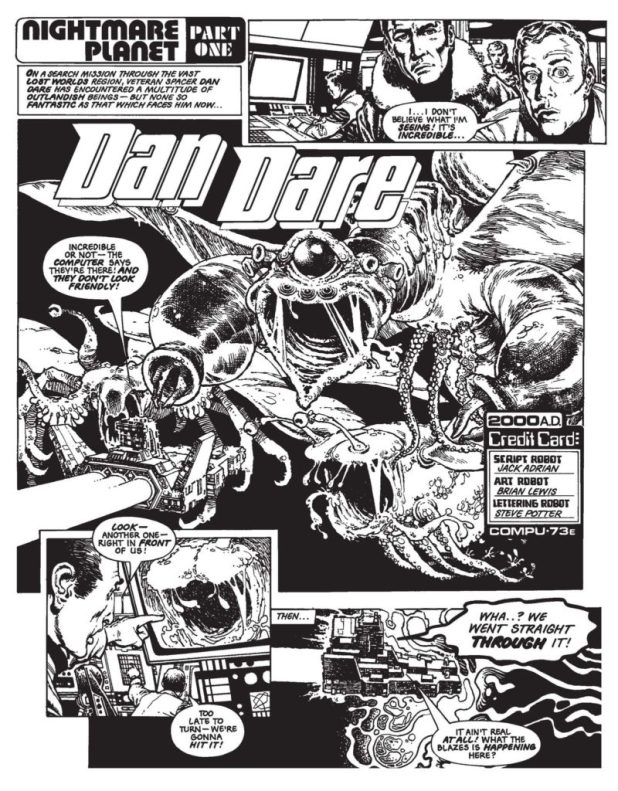 Dan Dare - Nightmare Planet