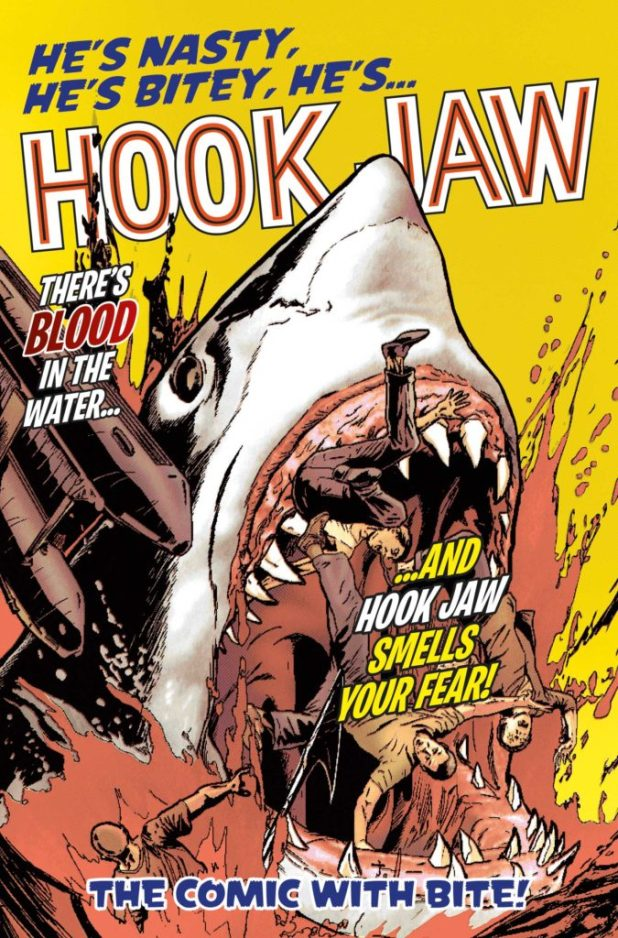 Hook Jaw #1 - Diamond UK Variant by Brian Williamson