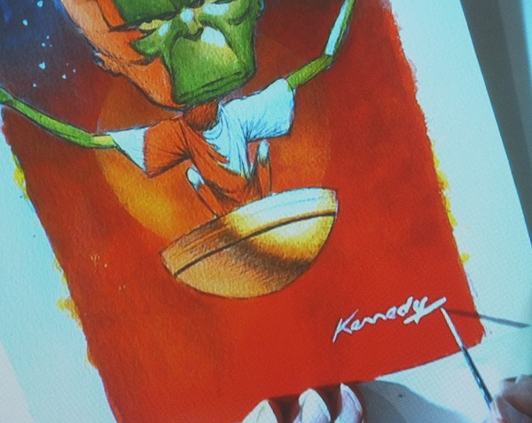 Ian Kennedy Masterclass 2016 - Adding the Signature