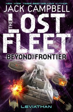 Titan Books edition of Lost Fleet: Beyond the Frontier - Leviathan.