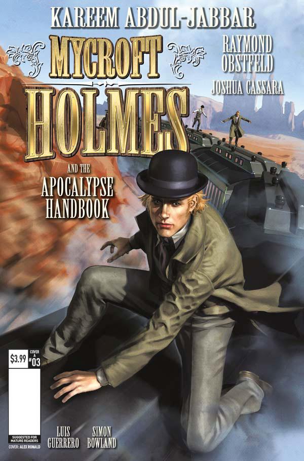 Mycroft Holmes #3 Cover A