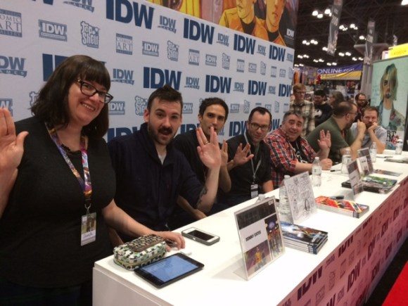 NYCC 2016 - IDW Star Trek Signing Day 3