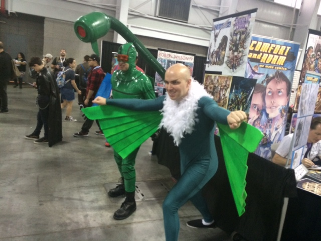 NYCC 2016 - Cosplay - The Vulture