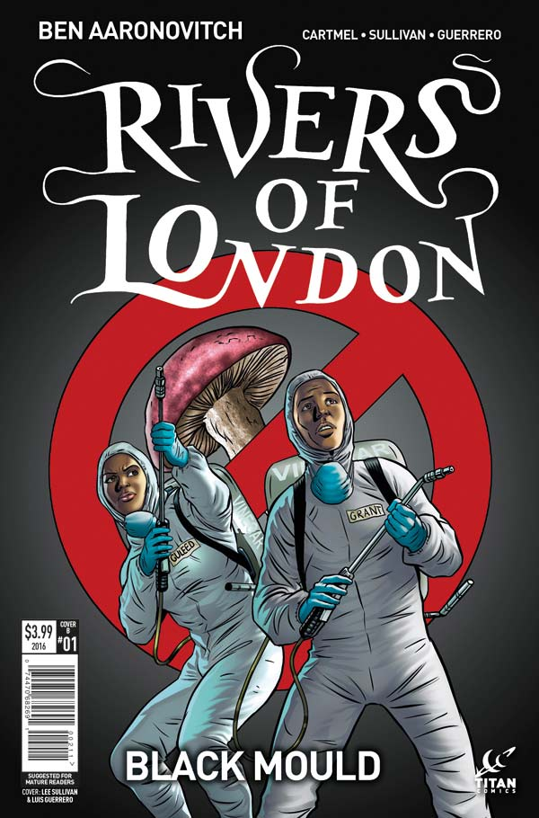 Rivers of London: Black Mould #1 Cover B: Lee Sullivan / Luis Guerrero