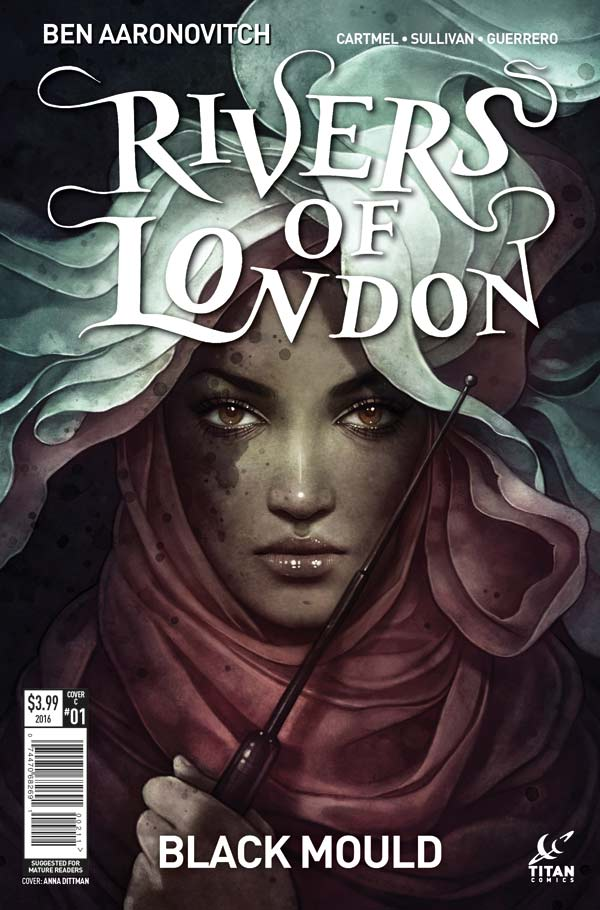 Rivers of London: Black Mould #1Cover C: Anna Dittmann