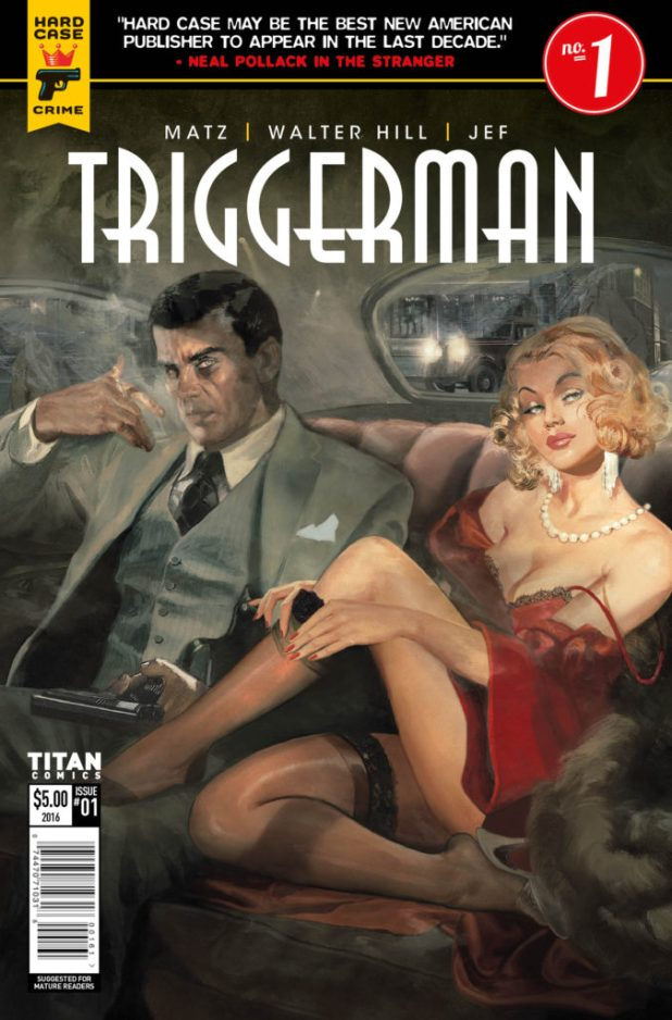 Hard Case Crime - Triggerman - NYCC16