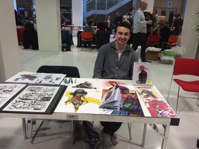 Nottingham Comic Convention 2016 - Matt Harrower