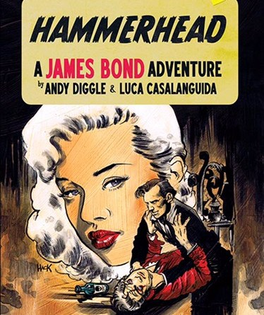 James Bond - HammerHead #1 - Variant Cover