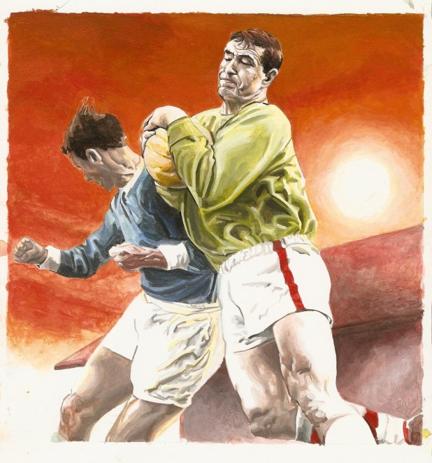 Richard Piers Rayner: Boro goalkeeper from the 1960s, Eddie Connachan