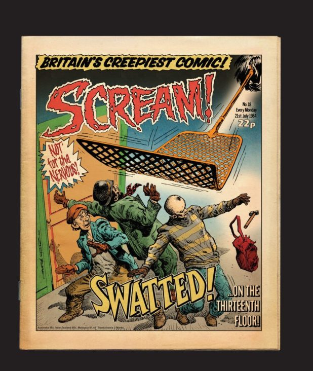 "One of Michael Carroll's ""Might Have Been"" Scream! covers"