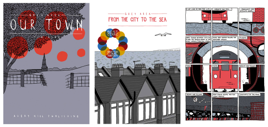 Avery Hill's Tim Bird titles, including the ward-winning From the City to the Sea