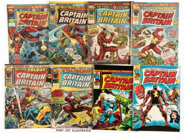 Captain Britain Weekly Issues 1 - 39