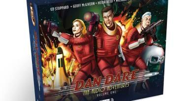 Dan Dare Audio Adventures Volume One - Pack Shot