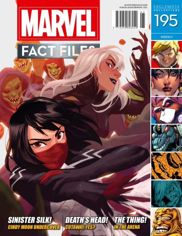 Marvel Fact Files Issue 195 - Cover