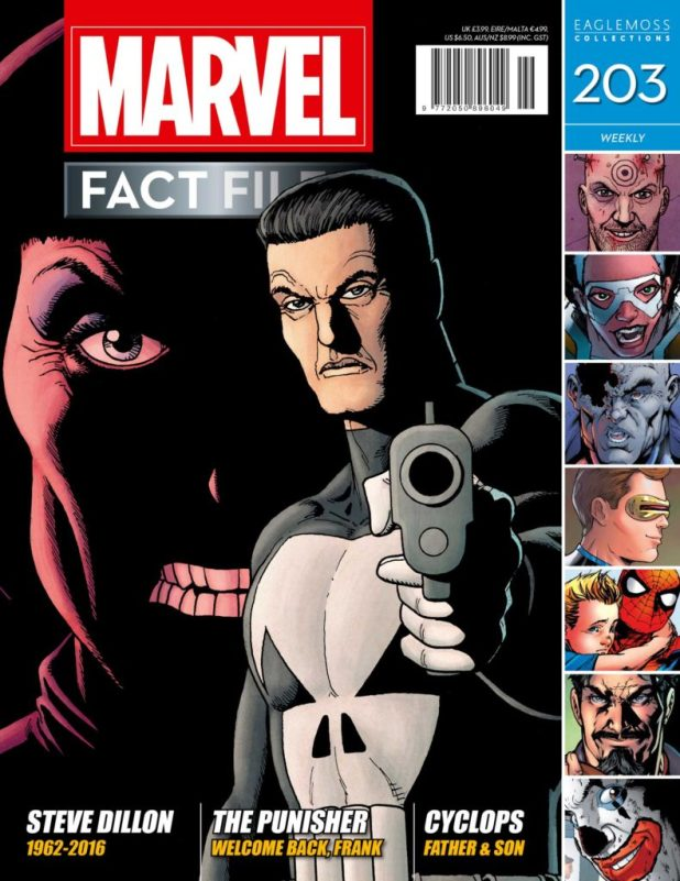 Marvel Fact Files 203 - Cover