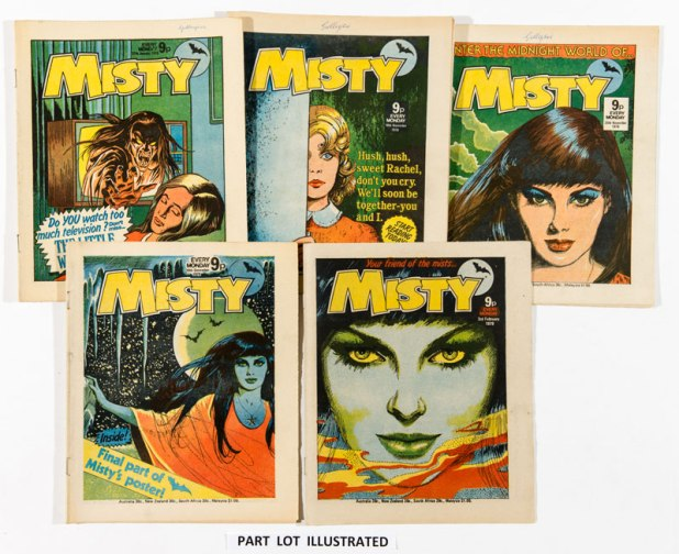 Misty comics