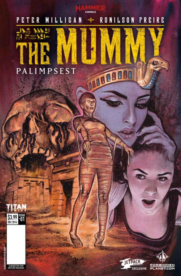 The Mummy #1 - Jetpack Comics / Forbidden Planet variant by Graham Humphreys
