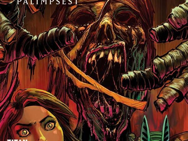 """It's Hammer Time for Titan Comics as """"The Mummy"""" debuts, and it's a scream!"""