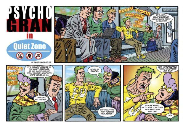 Psycho Gran #2 - Sample 1