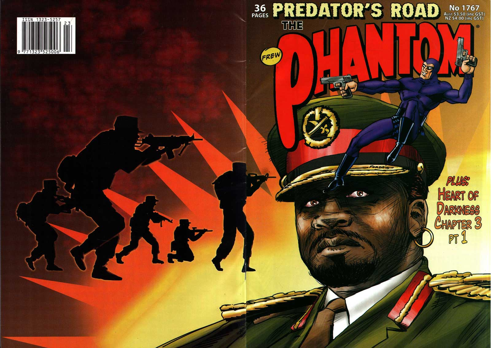 In Review: The Phantom 1767 – Predator's Road (Frew Comics)