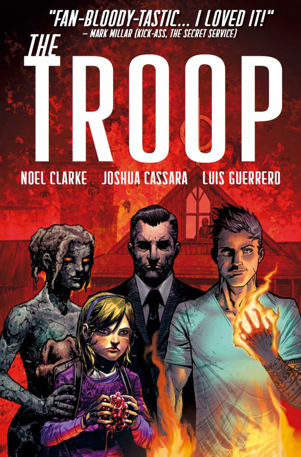 The Troop Graphic Novel Cover
