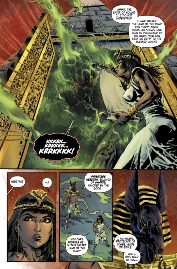 The Mummy #1 Preview 2