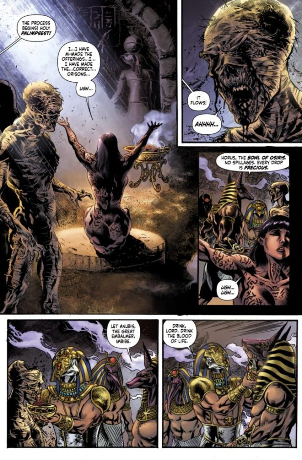 The Mummy #1 Preview 3