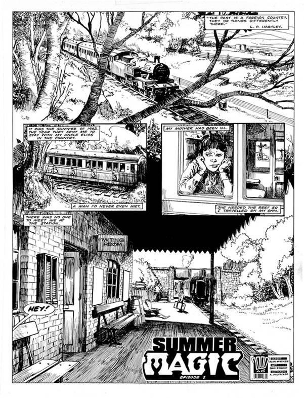 The Journal of Luke Kirby - Sample Art