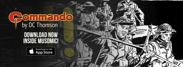 Musomic - Commando Comic Promotion Image