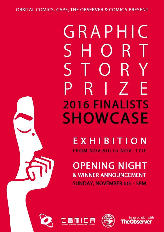 London's Orbital Comics showcases Graphic Short Story Prize Finalists