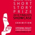 Graphic Short Story Prize Poster 2016