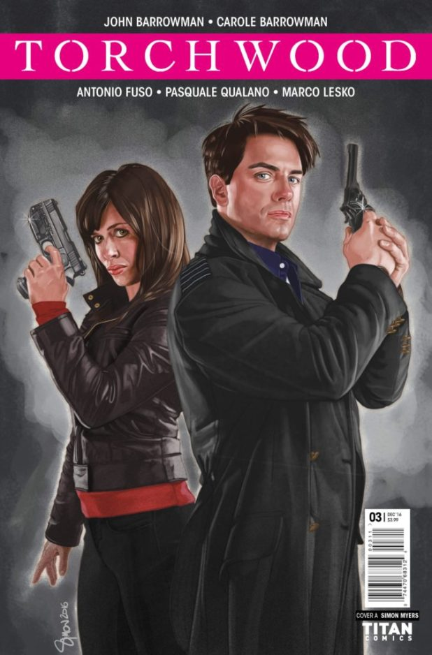Torchwood #3 Cover A by Claudia Ianniciello
