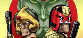 Celebrating 40 Years of 2000AD: Anniversary cover by Carlos Ezquerra revealed