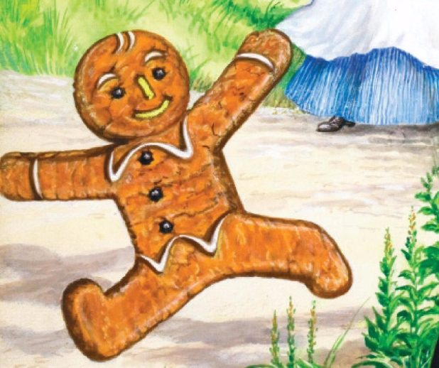 Well Loved Tales: The Gingerbread Man. Image courtesy Ladybird Books