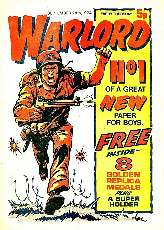 Warlord Issue One - Cover