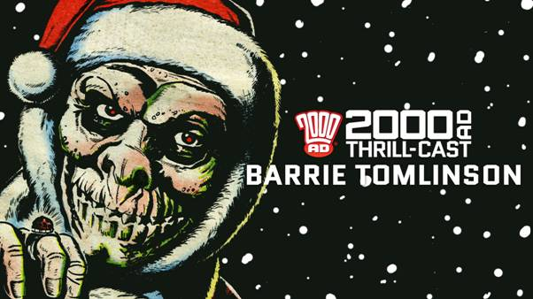 2000AD Podcast: Barrie Tomlinson SNIP