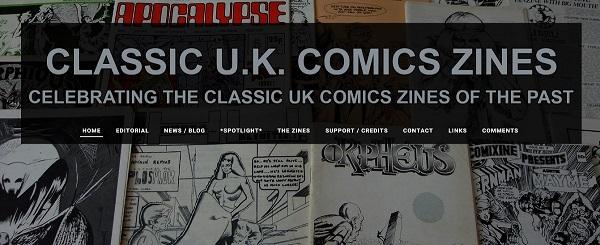 Classic UK Comics Zines s