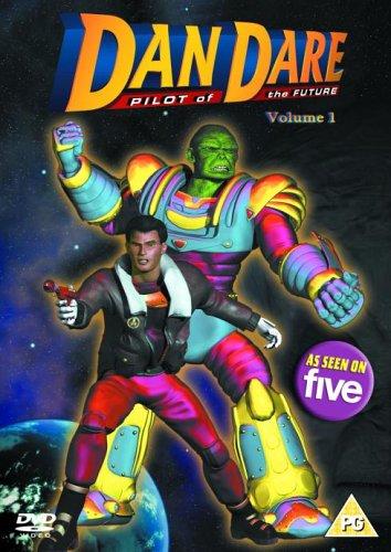 Dan Dare CGI DVD Cover