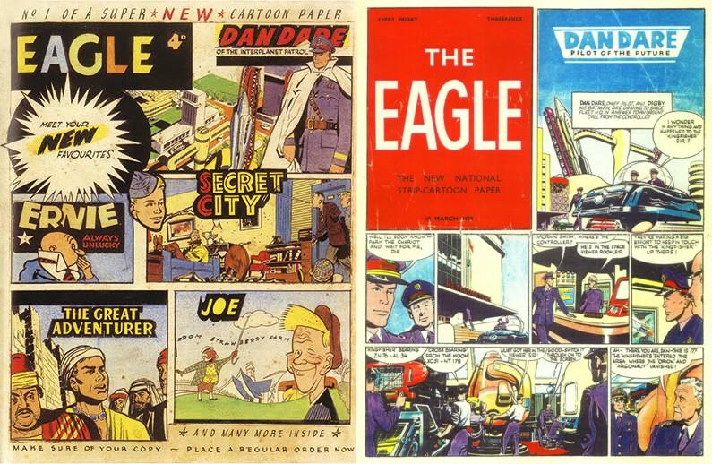 Eagle Dummy 1 and 2