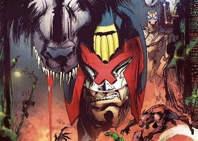 """IDW's Judge Dredd: Deviations """"Howl of the Wolf"""" by John McCrea coming in March 2017"""