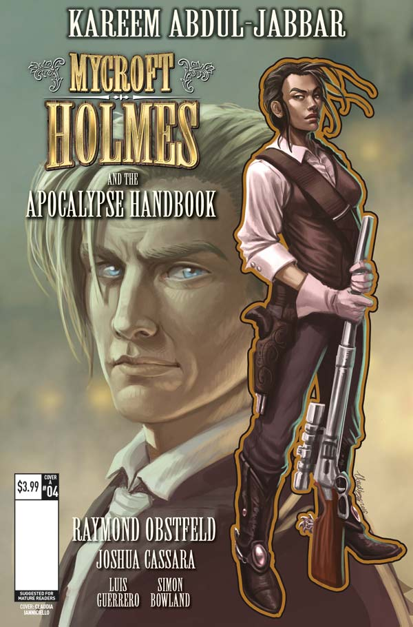 Mycroft Holmes #4 (of 5) - Cover A