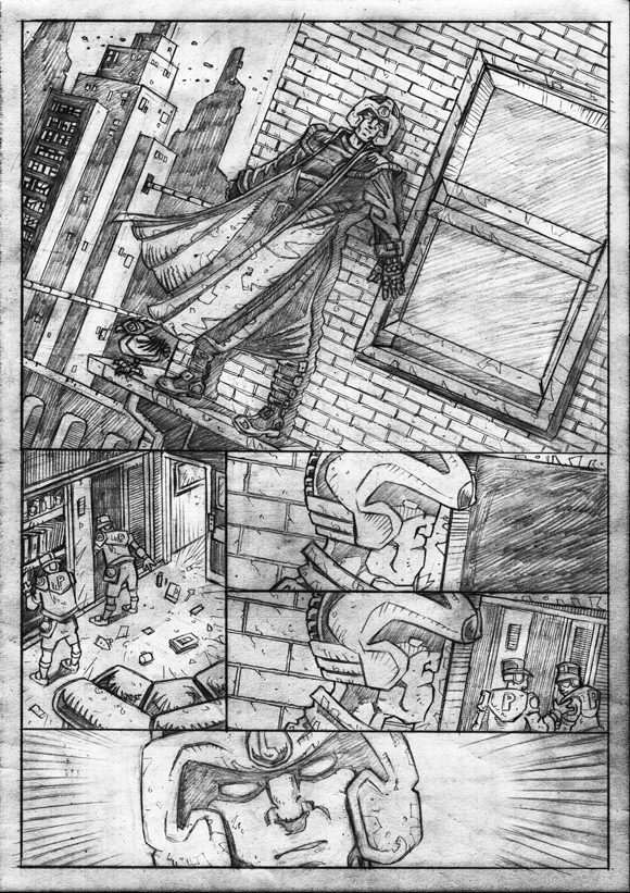 "Strontium Dog ""No Choice At All""  - Pencils 1"