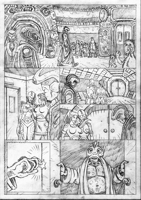 "Strontium Dog ""No Choice At All""  - Pencils 6"