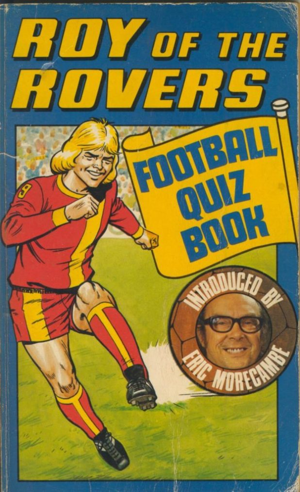 Roy of the Rovers Football Quiz Book
