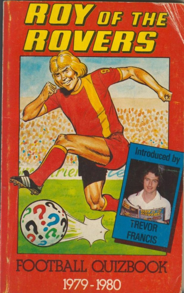 Roy of the Rovers Football Quizbook 1979 - 1980