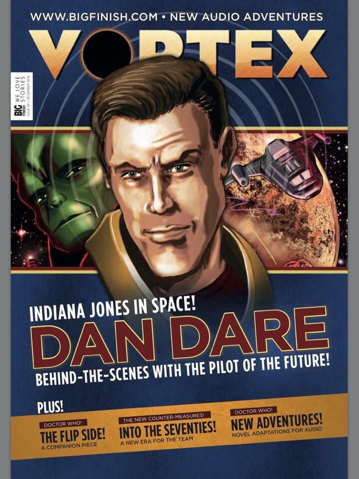 Dan Dare heads into the Vortex as new Audio Adventures released