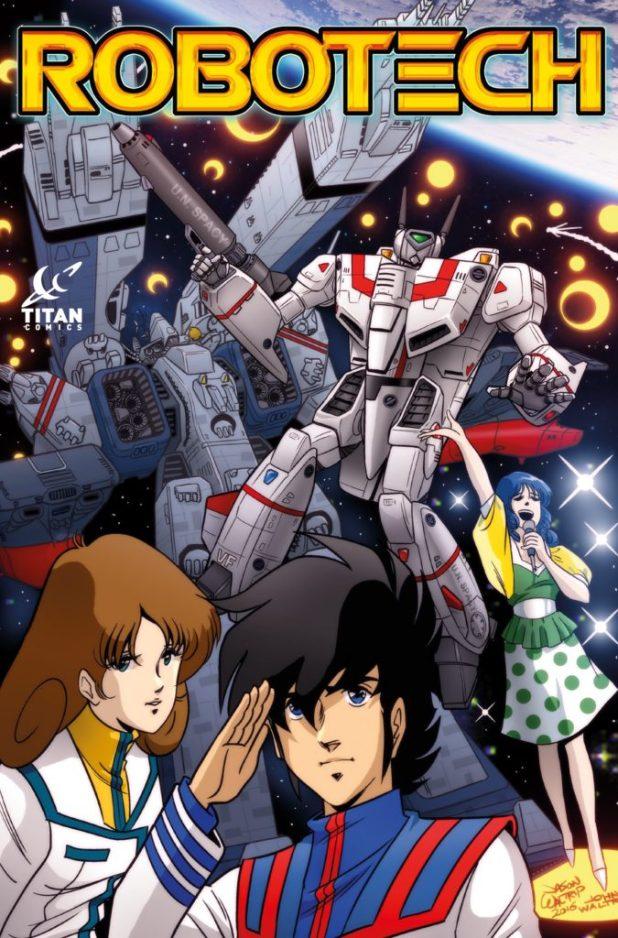 "Robotech #1 ""Retro"" Cover by Jason and John Waltrip"