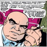 The Kingpin's first appearance in Amazing Spider-Man #50