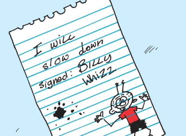 Beano 3865 - Billy Whizz